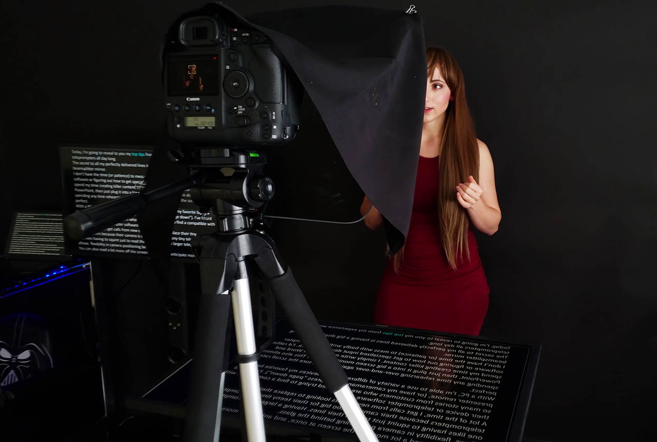 YouTube Teleprompter